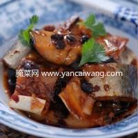 豆豉蒸腊鱼的做法