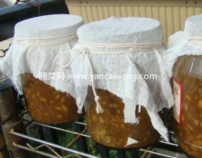 黄豆酱的做法