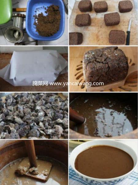 自制东北大酱的方法