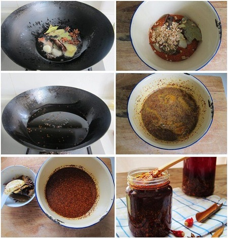 自制凉拌菜调味料:辣椒油