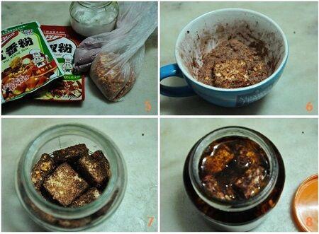 霉豆腐的做法