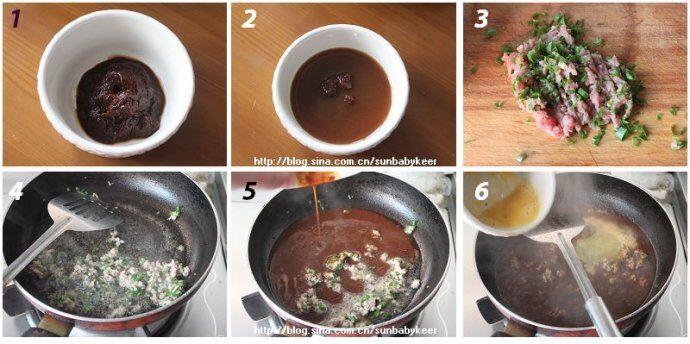 肉末鸡蛋酱的做法