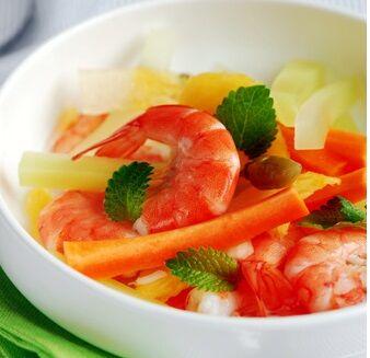 跳水泡菜虾