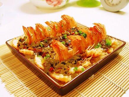 开胃剁椒虾