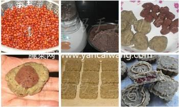 红豆馅全豆绿豆糕的自制方法(过程组图)