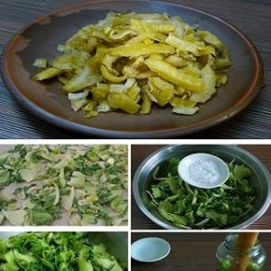 低盐碎酸菜的做法