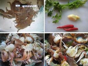 生腌小海蟹的做法