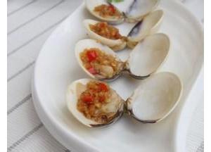 腌海鲜:蒜酱腌白蛤