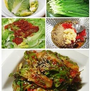 清新爽口的腌春白菜