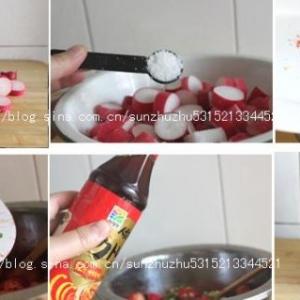 图解泡水萝卜的做法