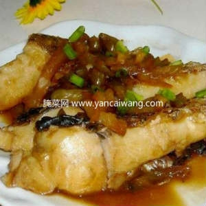 榨菜焖鲩鱼腩的做法