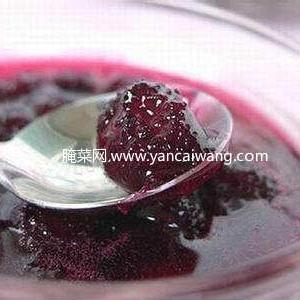 玫瑰花酱的制作方法
