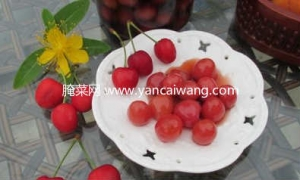 鲜樱桃的保存方法——酒渍樱桃