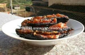 江西茄子干(茄子酱)的传统做法