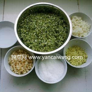 韭菜花的几种制作方法(集合贴)
