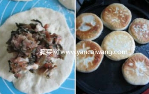 梅干菜肉饼的做法