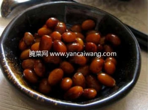 韩式酱黄豆的做法