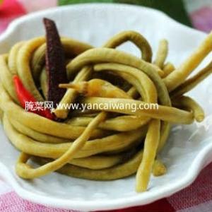 腌酸豇豆的方法