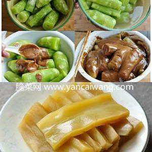 自制酱酸莴苣的做法