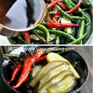 酸甜腌黄瓜--清脆、酸甜、香辣的小咸菜