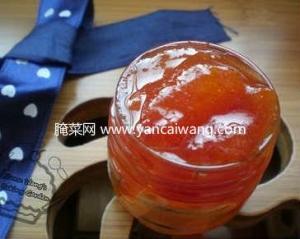 哈密瓜番茄果酱的做法