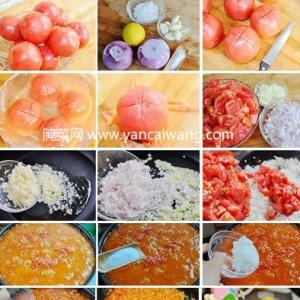 自制番茄沙司的方法